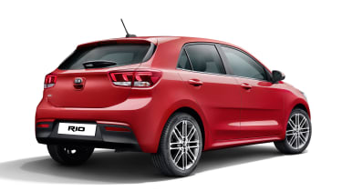 New Kia Rio - rear static