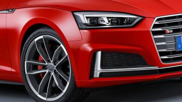 Audi S5 - front detail