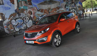 Kia Sportage First Edition front three quarter static