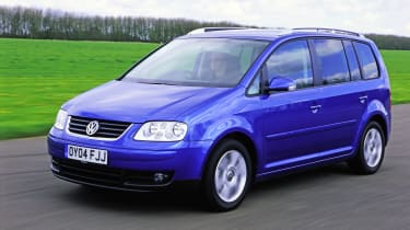 Best cars under £1,000 - VW Touran