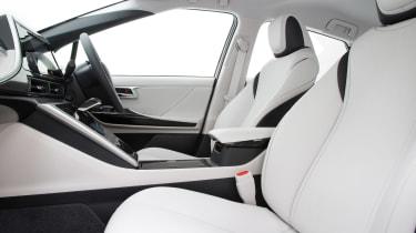 Toyota Mirai - front seats