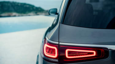 Mercedes GLS - grey rear light