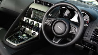 Jaguar F-Type Coupe V6 interior
