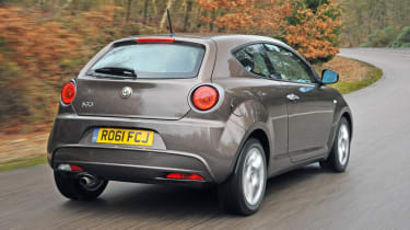 The Alfa comes with a wide range of petrol and diesel engines.