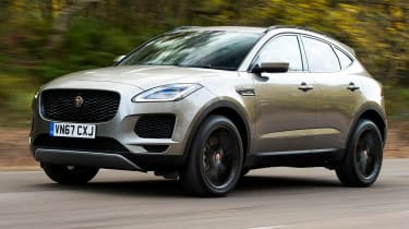 Jaguar E-Pace review - front
