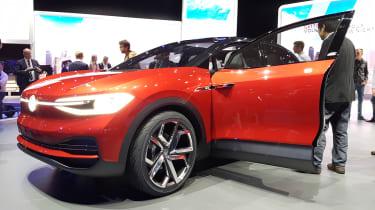 Volkswagen I.D. Crozz II - show front door open