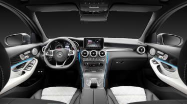 Mercedes GLC static interior