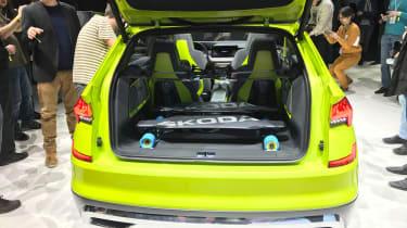 Skoda Vision X - Geneva full rear