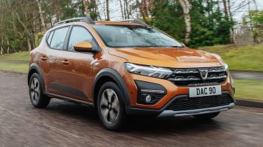Dacia Sandero Stepway - O/S tracking