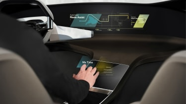 BMW HoloActive touch concept