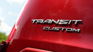 Ford Transit Custom - rear badge