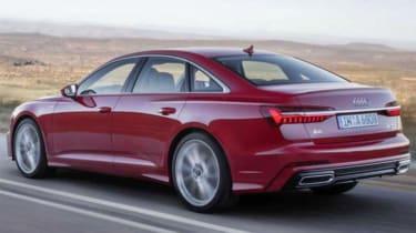 Audi A6 - leaked rear