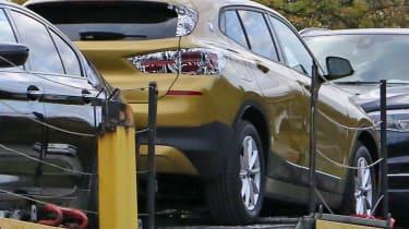 BMW X2 spy shot - rear