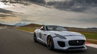 <span>Jaguar's Project 7 builds on the already highly-entertaining, charismatic F-Type R Convertible.</span>