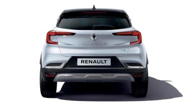 Renault Captur E-Hybrid - full rear