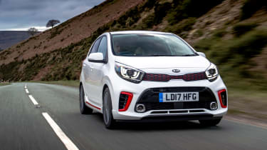 Kia Picanto GT Line - front tracking