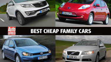 best cheap family cars