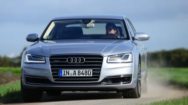 Audi A8 front tracking