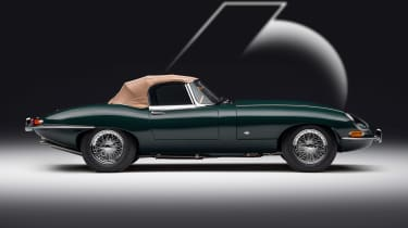 Jaguar E-Type 60 Collection - roadster roof up