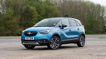 Vauxhall Crossland X - front static