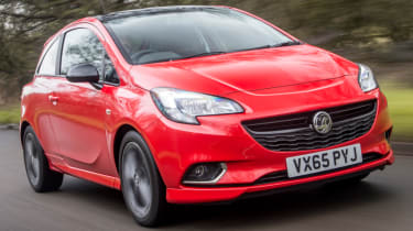 Vauxhall Corsa front
