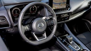 Nissan Qashqai - cabin