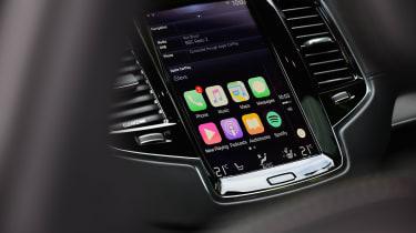 Volvo XC90 long term - Apple CarPlay