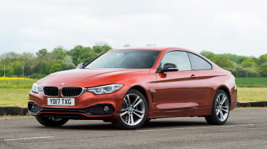 BMW 4 Series - front static