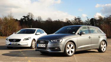 Audi A3 Sportback vs Volvo V40