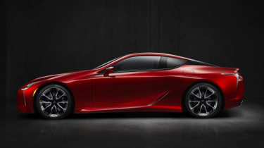 Lexus LC500 - side profile 2