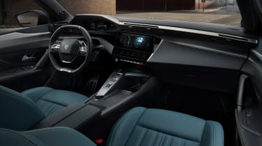 Peugeot 308 - cabin