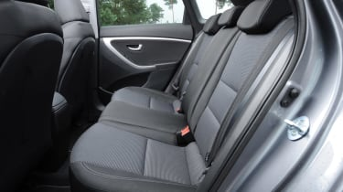 Hyundai i30 Tourer rear seats