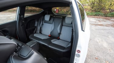 Ford Fiesta ST Mountune 230 - rear seats