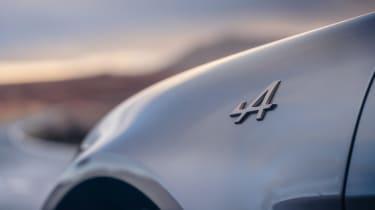 Alpine A110 Legende GT - Alpine badge