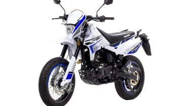 Lexmoto Adrenaline 125 efi review - front quarter