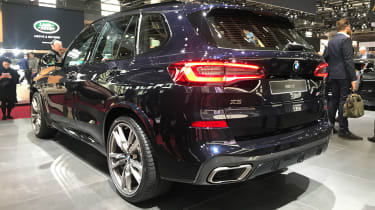 BMW X5 - Paris rear