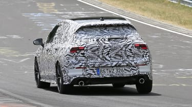 Volkswagen Golf GTI - spied rear cornering