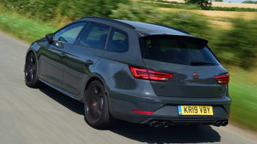 SEAT Leon Cupra R ST ABT - rear tracking