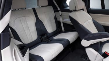 New BMW X7 studio shoot rear seats 2