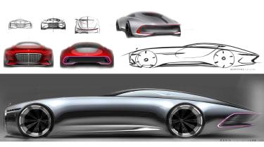 Mercedes-Maybach 6 concept coupe - sketch