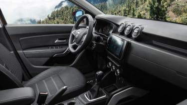 Dacia Duster facelift - cabin