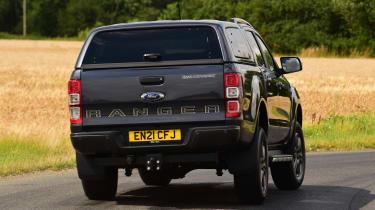Ford Ranger Wildtrack long termer - first report rear