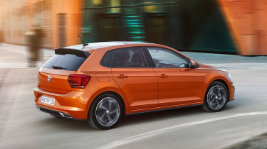 New Volkswagen Polo R-Line - rear action