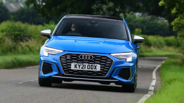 Audi S3 long termer - first report front action