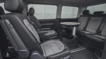 Volkswagen Caravelle - rear seats