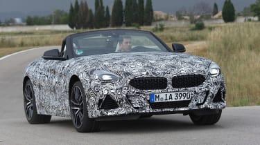 BMW Z4 prototype - front action