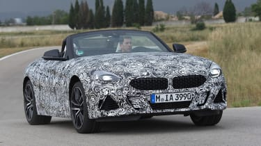 BMW Z4 prototype - front action