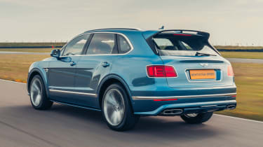 Bentley Bentayga Speed - rear