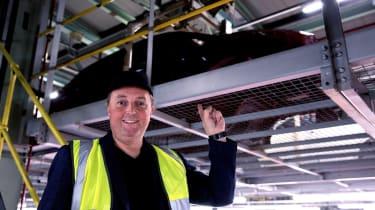 Nissan Leaf long termer first report - Steve Fowler factory