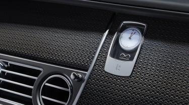 Rolls Royce Black Badge clock